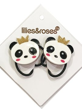 Lilies and Roses Ponytail - Panda