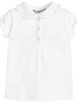 Mayoral Baby Girl White Polo