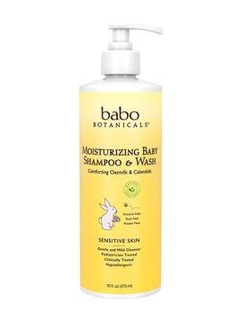 Babo Botanicals Moisturizing Baby Shampoo - Family Size