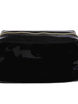 Stoney Clover Lane Black Patent Pouch