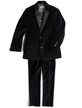 Appaman Black Velvet Mod Suit