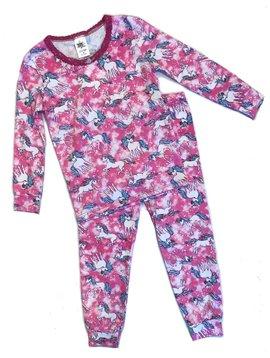 Esme Loungewear Pink Unicorn Long Sleeve