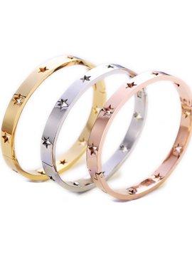 Bari Lynn Star Bangle Bracelet