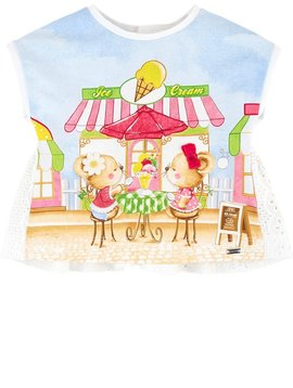 Mayoral Ice cream Time Printed Tee