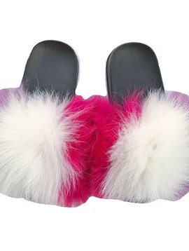 Sugar Bear Kids Fur Slide - Unicorn