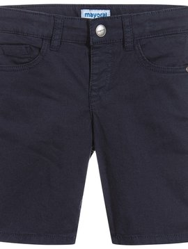 Mayoral 5 Pocket Cotton Short - Navy