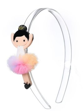 Lilies and Roses Headband - Rainbow Ballerina