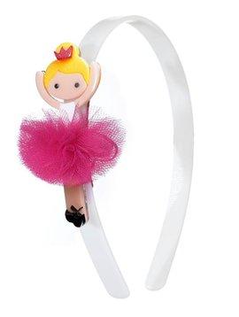 Lilies and Roses Headband - Ballerina