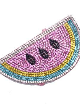 Bari Lynn Emoji Clip - Pink Watermelon