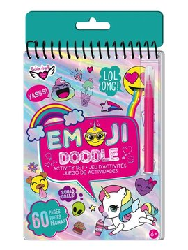 Fashion Angels Fashion Angels Emoji Doodle Activity Book