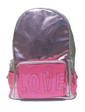Bari Lynn Pink Combo LOVE Backpack - Bari Lynn Accessories
