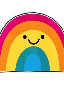 Iscream Rainbow with a Smile Oversized Towel - I-Scream