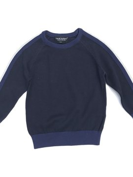 Leo & Zachary Navy Sweater - Leo and Zachary