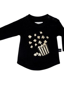 HUXBABY Popcorn Long Sleeve Top - Huxbaby