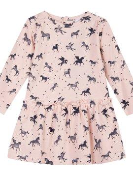 3pommes & B-Karo Pink Horse Print Dress - 3 pommes