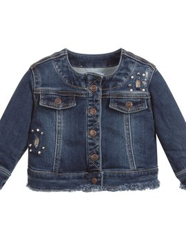 Mayoral Baby Girl Denim Jacket - Mayoral Clothing