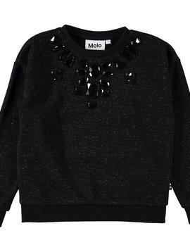 molo Maila Sweater - Black Jewels - Molo Kids