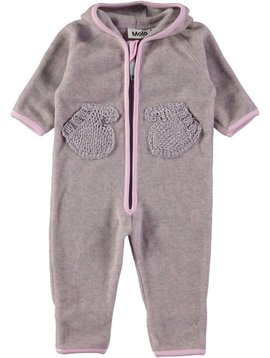 molo Udo Fleece - Pink Lady - Molo Kids
