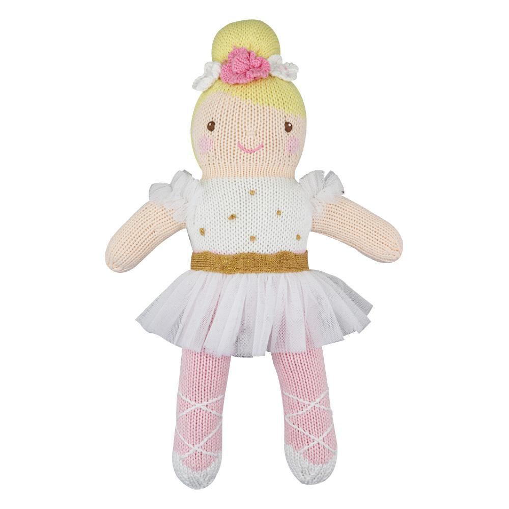 Zubels Ballerina in White - Zubels Toys