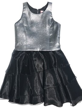Zoe Ltd Zoe Ltd -  Silver Tiered Dress