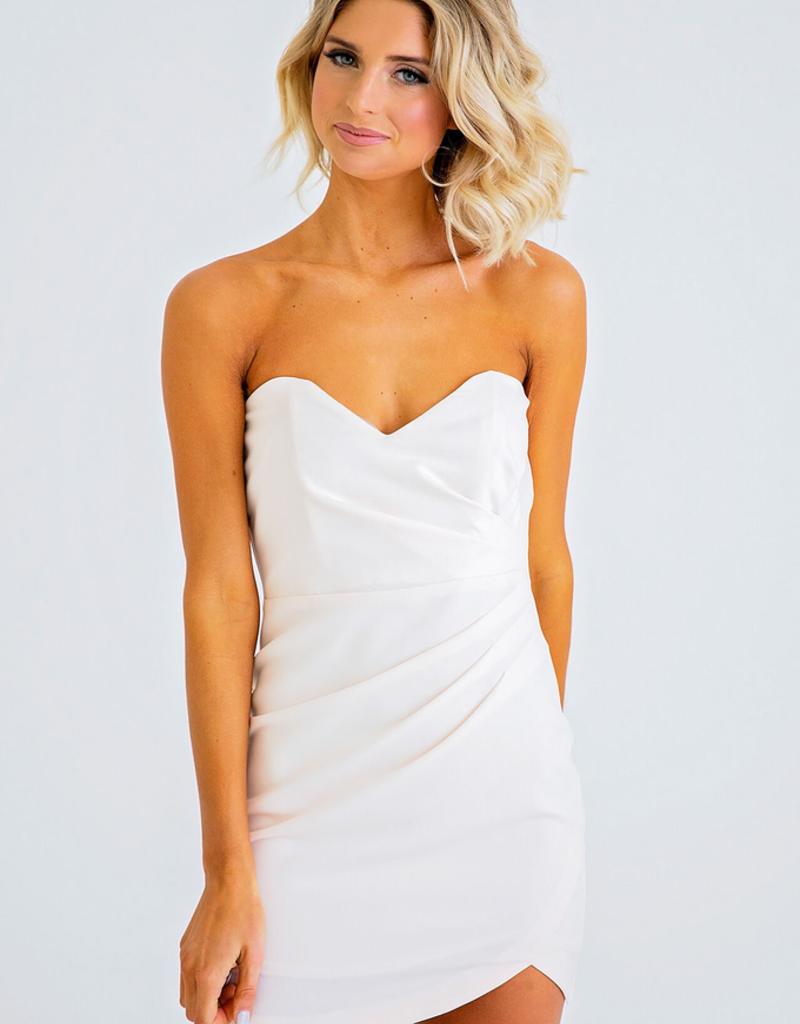 Women's Clothing Sweetheart Neckkine Bustier Dress