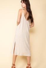 Women's Clothing Midi Slit Dress