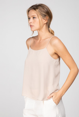 Women's Clothing Dainty Ridge Cami w/ scalloped neckline and ribbing