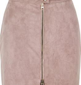 Women's Clothing Exposed Zip Mini Skirt