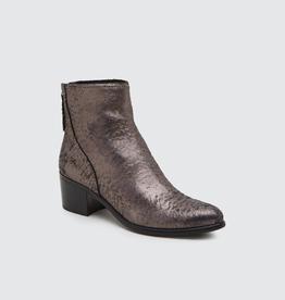 """Cassius Booties - Mercury - 100% leather 2"""" booties"""