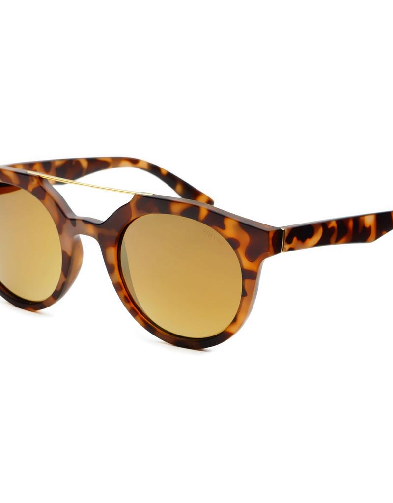 Accessories Collins Round Sunglasses, Tortoise Frame