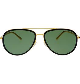 Accessories Sunny Aviator Sunglasses, Gold/Black