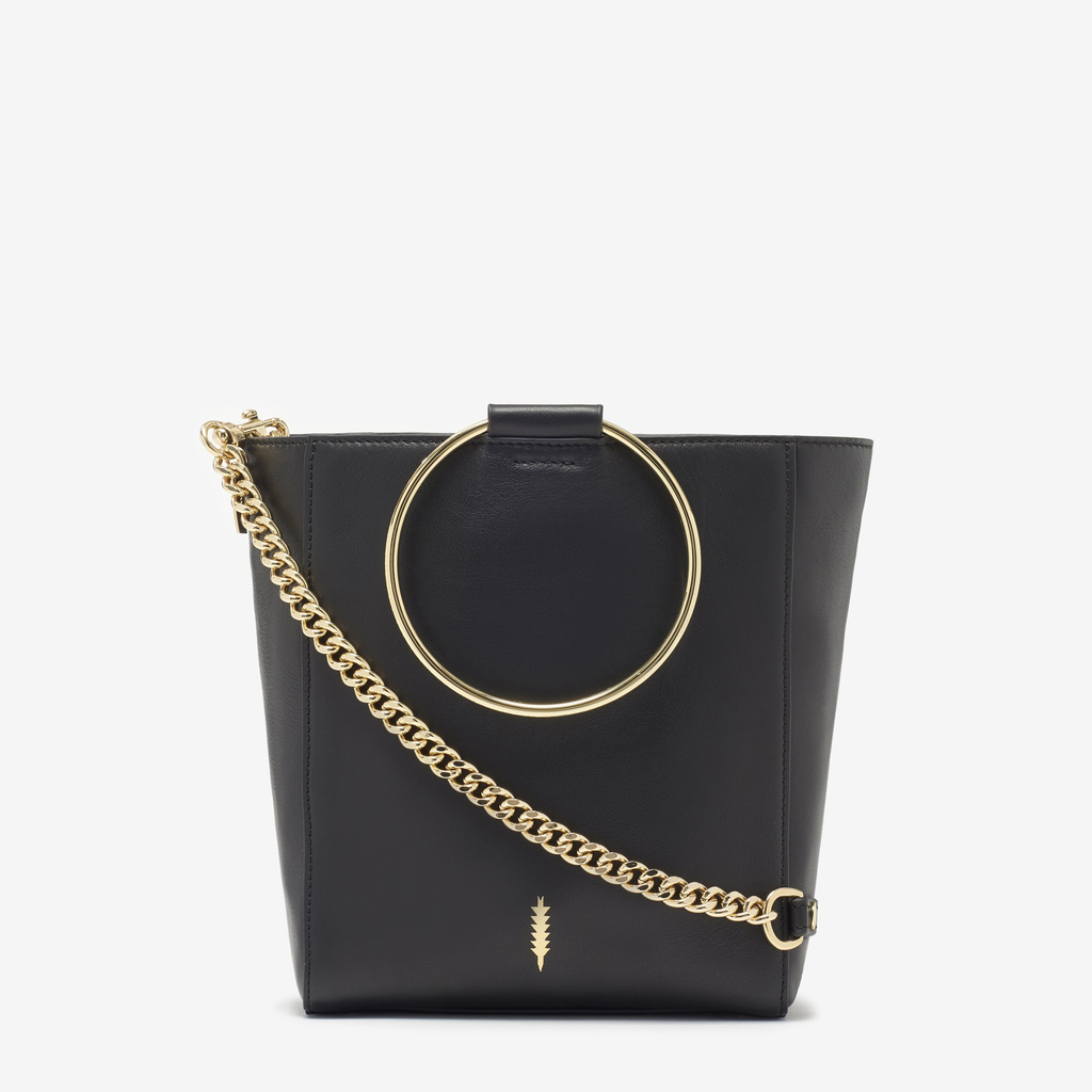 2d63378b Black Bags With Gold Chain