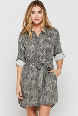 Women's Clothing Anita Roll Sleeve Dress