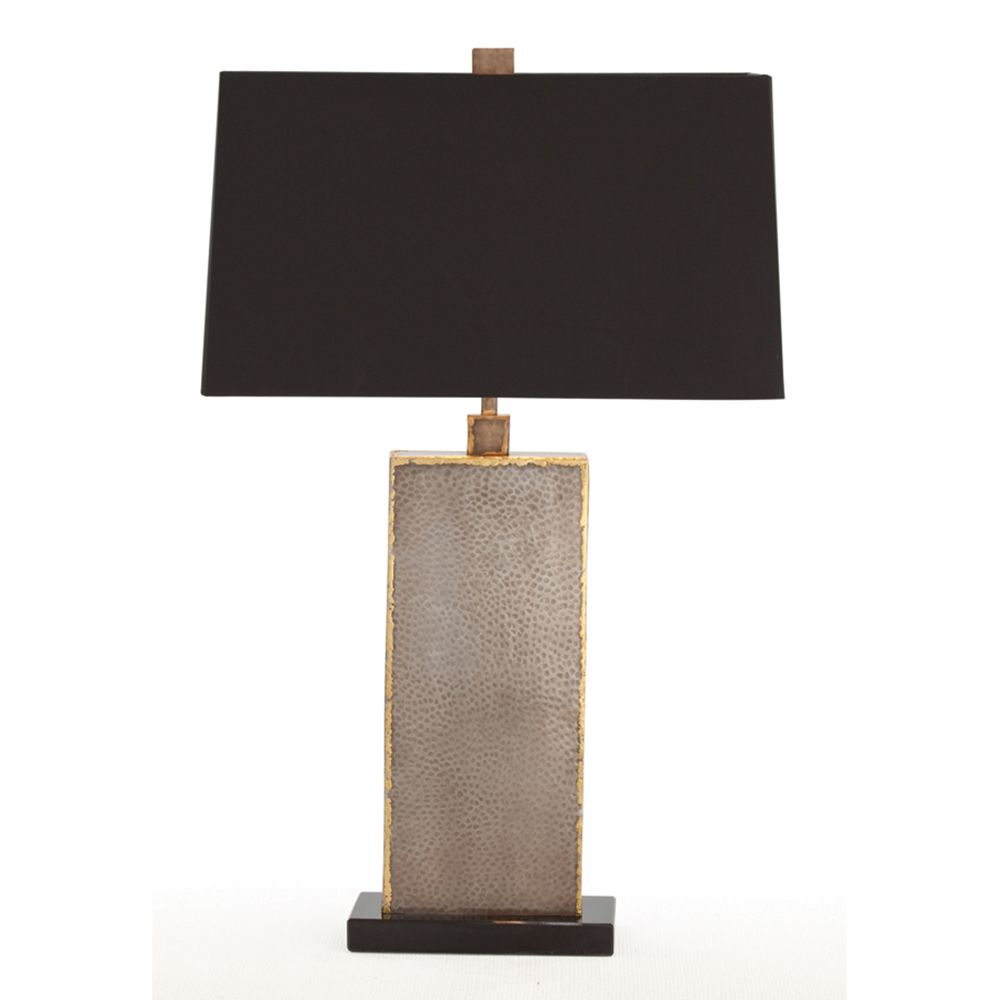 GRAHAM NATURAL IRON & BRASS LAMP