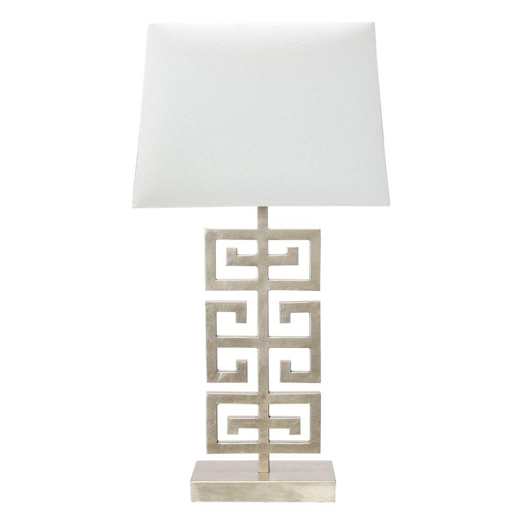 JASPER SILVER TABLE LAMP