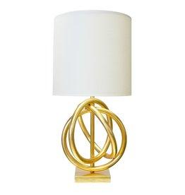 NATHAN GOLD LAMP