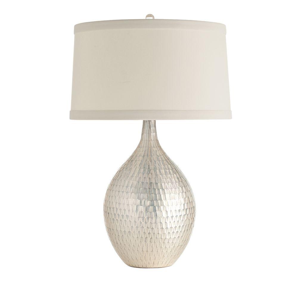 WALTER DISTRESSED MERCURY GLASS LAMP