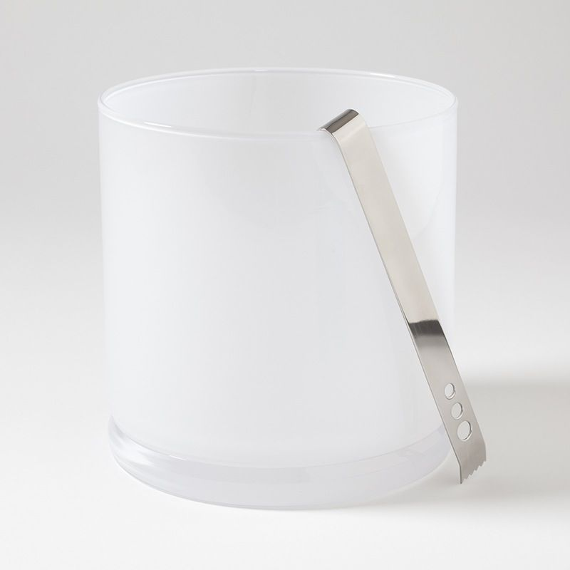 LAB ICE BUCKET-OPALINE WHITE