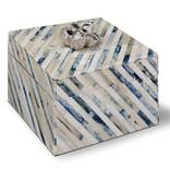 REGINA ANDREW  INDIGO STRIP BOX-SMALL