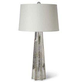 MERCURY GLASS STAR LAMP