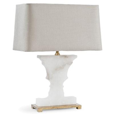REGINA ANDREW ALABASTER GOLD URN MINI TABLE LAMP