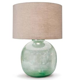 REGINA ANDREW SEEDED RECYCLED GLASS VESSEL LAMP