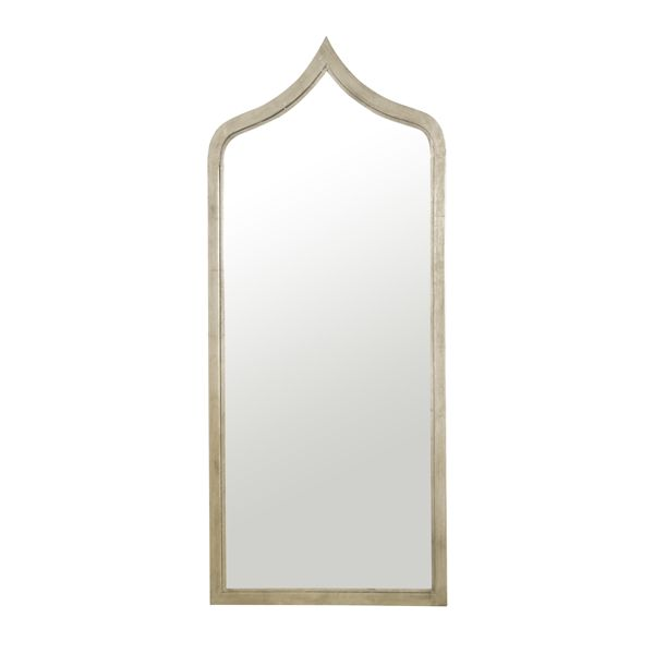 WORLDS AWAY ADINA CHAMPAGNE LEAF MIRROR