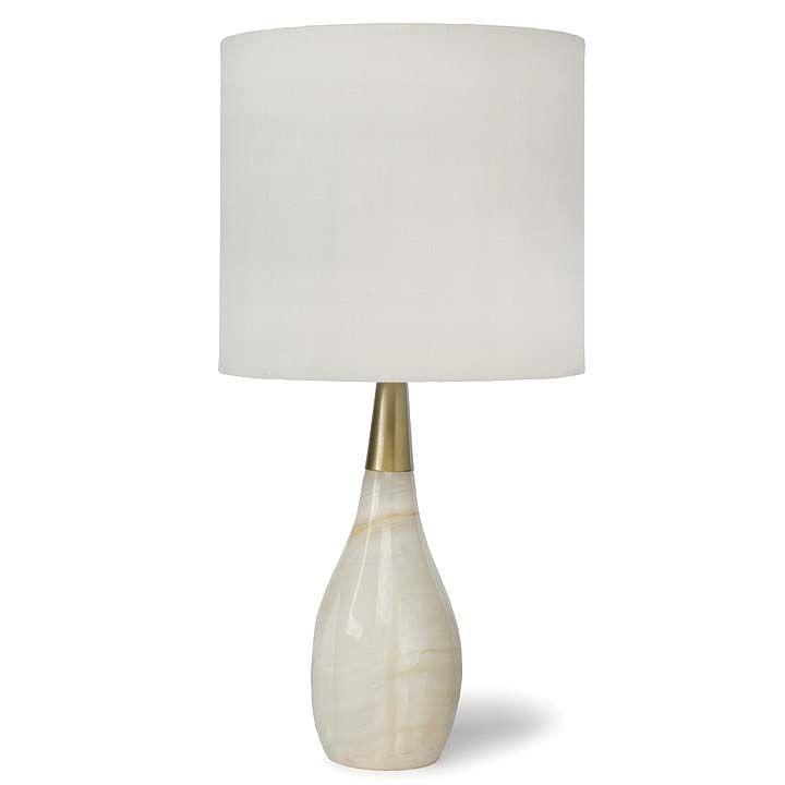 REGINA ANDREW CONTESSA ALABASTER LAMP