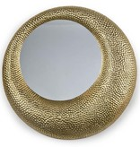 REGINA ANDREW HAMMERED MIRROR - GOLD