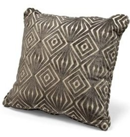 """REGINA ANDREW 18"""" x 18"""" SQUARE PILLOW- GEE OH/ MINK"""