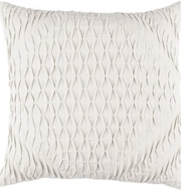 SURYA BAKER PILLOW IN LIGHT GRAY