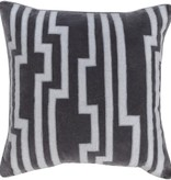 SURYA VELOCITY PILLOW IN GRAY/LIGHT GRAY