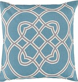 SURYA JORDEN PILLOW IN TEAL
