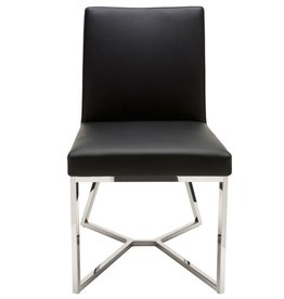 NUEVO PATRICE DINING CHAIR IN BLACK